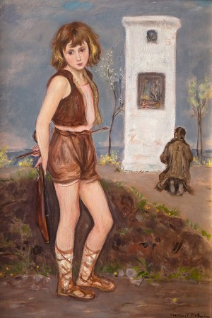 Wlastimil Hofman (1881 Praga - 1970 Szklarska Poręba), Boży śpiewak, lata 20-te XX w.