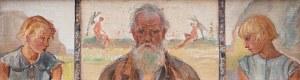 Wlastimil Hofman (1881 Praga - 1970 Szklarska Poręba), Tryptyk z aniołami