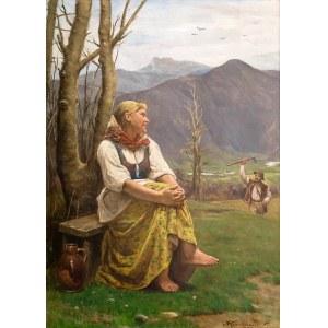 Antoni Kozakiewicz (1841 Kraków - 1929 tamże), Góralka