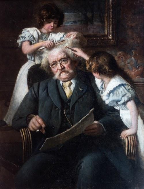 Maximilian Bernhard Sturmhoefel (1853 Gdańsk - 1913 tamże), Małe fryzjerki