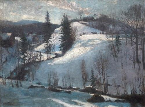 Otto Thiele (1870 Rokita (zachodiopomorskie)-1955 Bonn), Zima w Szklarskiej Porębie