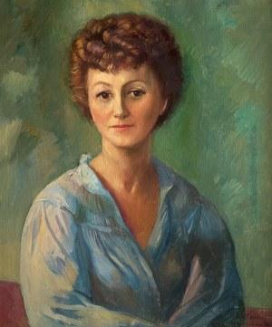 Antoni Michalak (1899 Kozłów Szlachecki - 1975 Kazimierz Dolny), Portret kobiety, 1959 r.