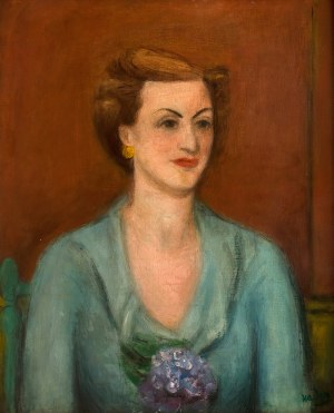 Henryk Hayden (1883 Warszawa - 1970 Paryż), Portret kobiety