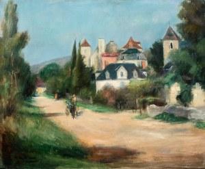 Henryk Hayden (1883 Warszawa - 1970 Paryż), Pejzaż Meyronne, ok. 1929–1931