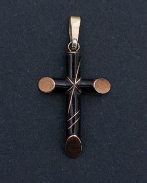 Krzyżyk patriotyczny symbolizujący 5 poległych, Polska, po 1861 r.