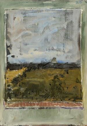 Jacek SIENICKI (1928-2000), Pejzaż z okna, 1975