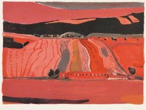 Henryk HAYDEN (1883-1970), Pejzaż z polami, 1969