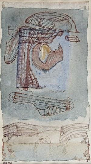 Jerzy STAJUDA (1936-1992), Bez tytułu - 1404, 1963