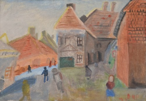 Doren HEATON-POTWOROWSKA (1930-2014), Pejzaż miejski