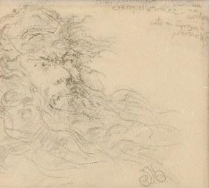 Jan MATEJKO (1838-1893), Szkic głowy Skirgiełły