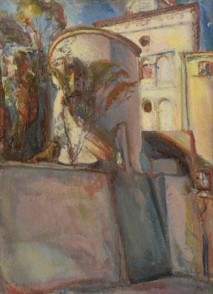 Kasper POCHWALSKI (1899-1971), Motyw architektoniczny, 1932