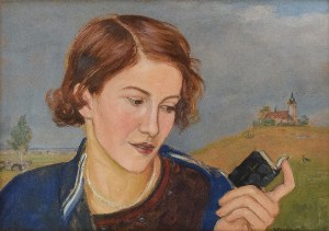 Wlastimil HOFMAN (1881-1970), Vita contemplativa, ok. 1925