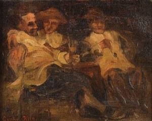Gustav Adolf KILB (1870-1907), Trzech wiejskich kompanów
