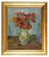 Jan KARMAŃSKI (1887-1958), Kwiaty w wazonie, 1954