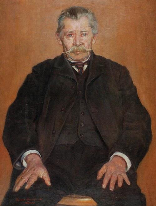 Ryszard GAWLIKOWSKI (1877-1956), Portret mężczyzny z wąsami