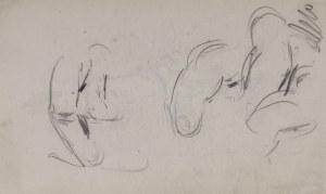 Wlastimil Hofman (1881-1970), Szkice palców dłoni, ok.1910