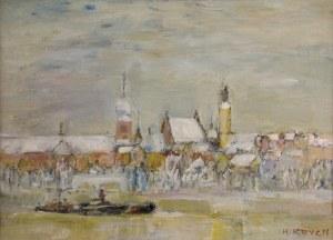 Henryk Krych (1905-1980), Panorama Warszawy