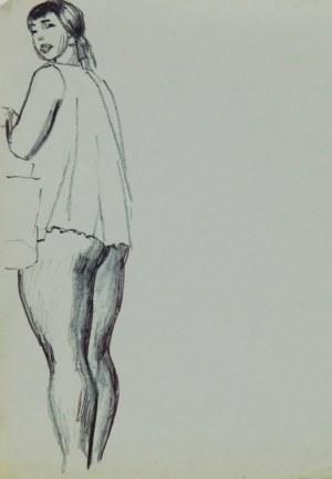 Ludwik Antoni Maciąg (1920-2007), Dziewczyna stojąca