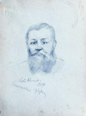 Tadeusz Rybkowski (1848-1926), Portret Kuncewicza, 1896