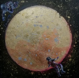 Mariola Świgulska, Flying on the moon, 2019r.