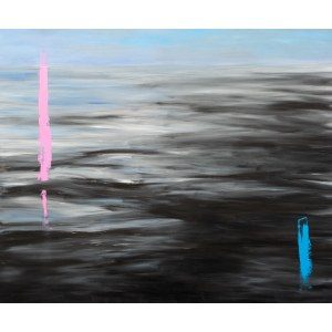 Mateusz BUDZYŃSKI ur. 1974, Kompozycja horyzontalna III, 2014