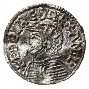 denar typu helmet 1003-1009, mennica Worcester, mincerz...