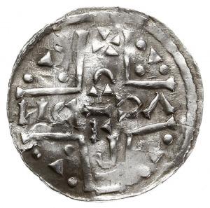denar 1018-1026, mincerz Anti (NCI), Aw: Dach kościoła,...