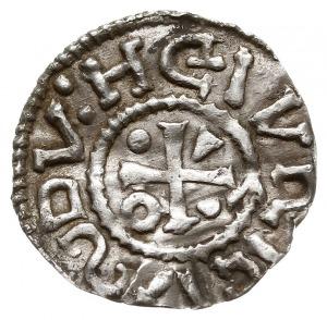 denar 995-1002, mincerz VIICI (Vaz), Aw: Dach kościoła,...