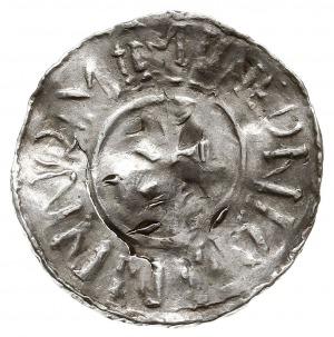 denar, Aw: Krzyż, wokoło BERNHA BERNH X, Rw: Krzyż, wok...