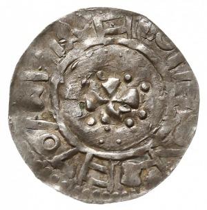 naśladownictwo łupawskie denara saksońskiego Bernarda I...