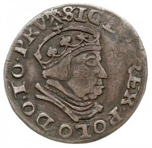 trojak 1540, Gdańsk, Iger G.40.1.c (R1), CNG 73 niedobi...