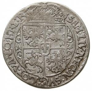 ort 1621, Bydgoszcz, na awersie LIT i końcówka PRV:M, S...