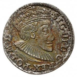 trojak 1588, Olkusz, Iger O.88.8.a (R1), bardzo ładny