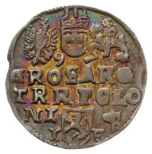 trojak 1597, Lublin, Iger L.97.17.a (R6), bardzo ładny ...