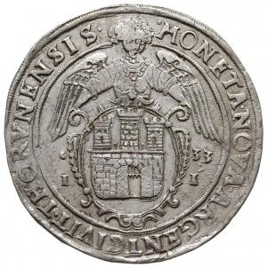 talar 1633, Toruń, Aw: Półpostać króla w prawo i napis ...