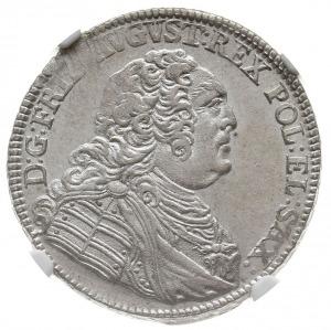 2/3 talara (gulden) 1763, Drezno, Kahnt 557, Merseb -, ...