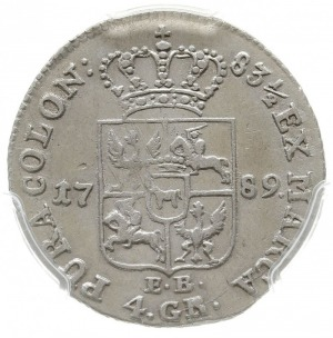 złotówka 1789, Warszawa, Plage 297, H-Cz. 3313, Berezow...