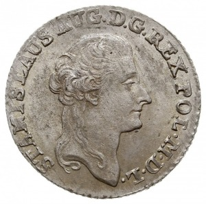 złotówka 1791, Warszawa, Plage 299, H-Cz. 3331, Berezow...