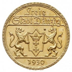25 guldenów 1930, Berlin, złoto 7.99 g, Jaeger D.11, Pa...