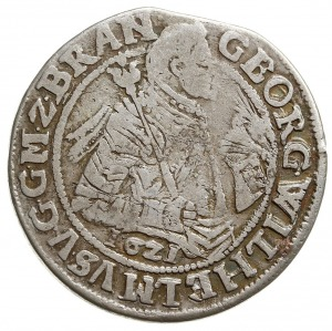 ort 1621, Królewiec, data pod popiersiem, Olding 37d, S...