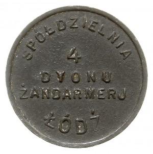 Łódź - 10 groszy Spółdzielni 4. Dywizjonu Żandanmerii, ...