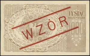 1.000 marek polskich 17.05.1919, seria ZR, numeracja 12...