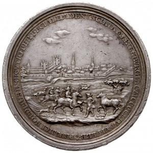 medal z 1754 roku, wybity z okazji 300. rocznicy powrot...