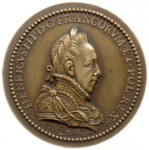 medal z początku XX wieku wybity w Paryżu, poświęcony H...