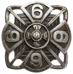 oficerska odznaka pamiątkowa 6 Pułku Piechoty Legionów ...