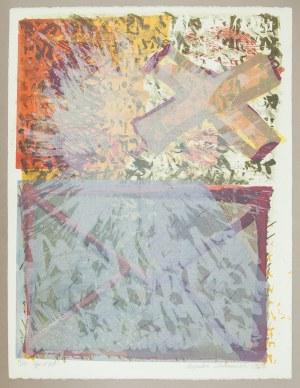 Bogdan KORCZOWSKI (ur. 1954), Bez tytułu IV [niebieska koperta], 1984
