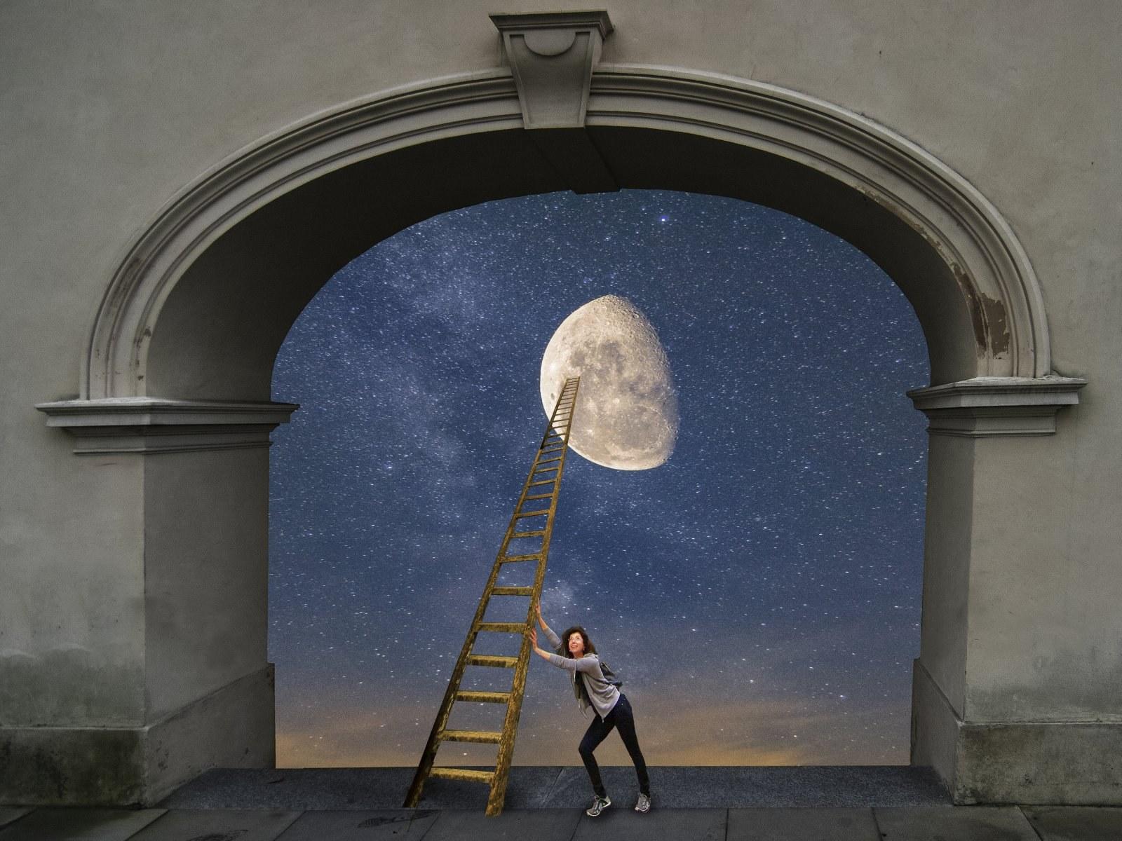 Cezary Dubiel, Dosięgnąć księżyca, 2019