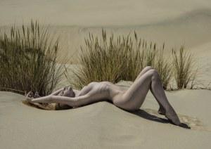 Zygmunt Trylański, On the dunes, 2018