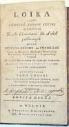 CONDILLAC- LOIKA Wilno 1808