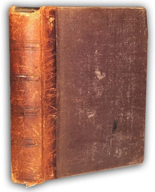 FLAMMARION - WIELOŚĆ ŚWIATÓW ZAMIESZKIWANYCH t.1-2 [komplet w 1 wol.] wyd. 1873